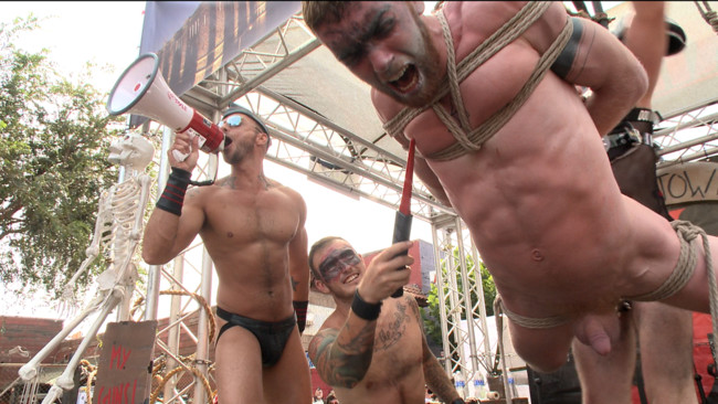 Bound in Public - Christian Wilde - Jessie Colter - Cass Bolton - Cass Bolton is a Folsom Street Fair Whore #2