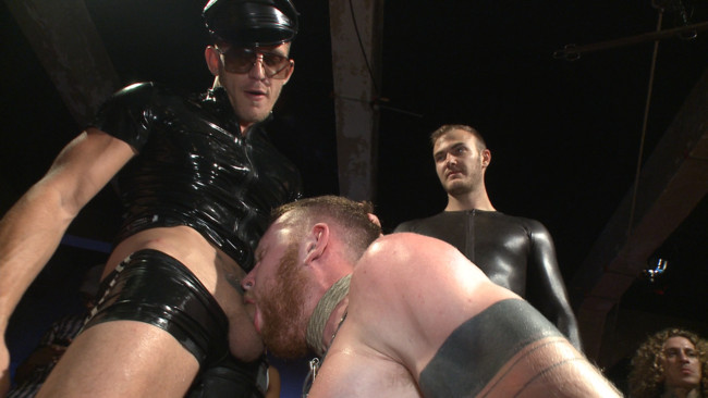 Bound in Public - Christian Wilde - Jessie Colter - Cass Bolton - Cass Bolton is a Folsom Street Fair Whore #13