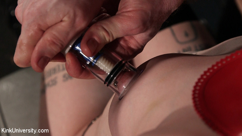Suction pumping. Danarama demonstrates a variety of suction devices for pumping up nipples, breasts, clit, and pussy. Learn suction techniques vacuum pumps to engorge the pussy and/or nipples, both for inducing pain (for BDSM scenes) and to heighten orgasm and sexual stimulation. Then see how pumping up the pussy, clit and even a penis can add to amazingly tight and juicy sex.