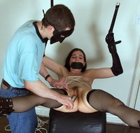 Alecia gets 'Pussy Play Bondage' with a vibrator.