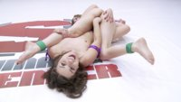 Alexa Nova gets bent into crazy positions and withholds brutal submission attempts.