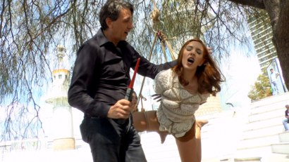 Pamela Sanchez is needs publicly humiliated.  Suspended, caned, and made to walk the streets naked before her holes get publicly pounded.