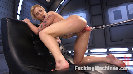 Graceful blonde babe gets fuck into oblivion. Dahlia Sky becomes even more seductive the more you fucked her. Her insatiable sexual appetite is fulfilled when we are finished machine fuckeding her.