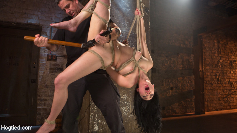 Petite-Brunette-is-Captured-in-Bondage-Tormented-and-Made-to-Cum