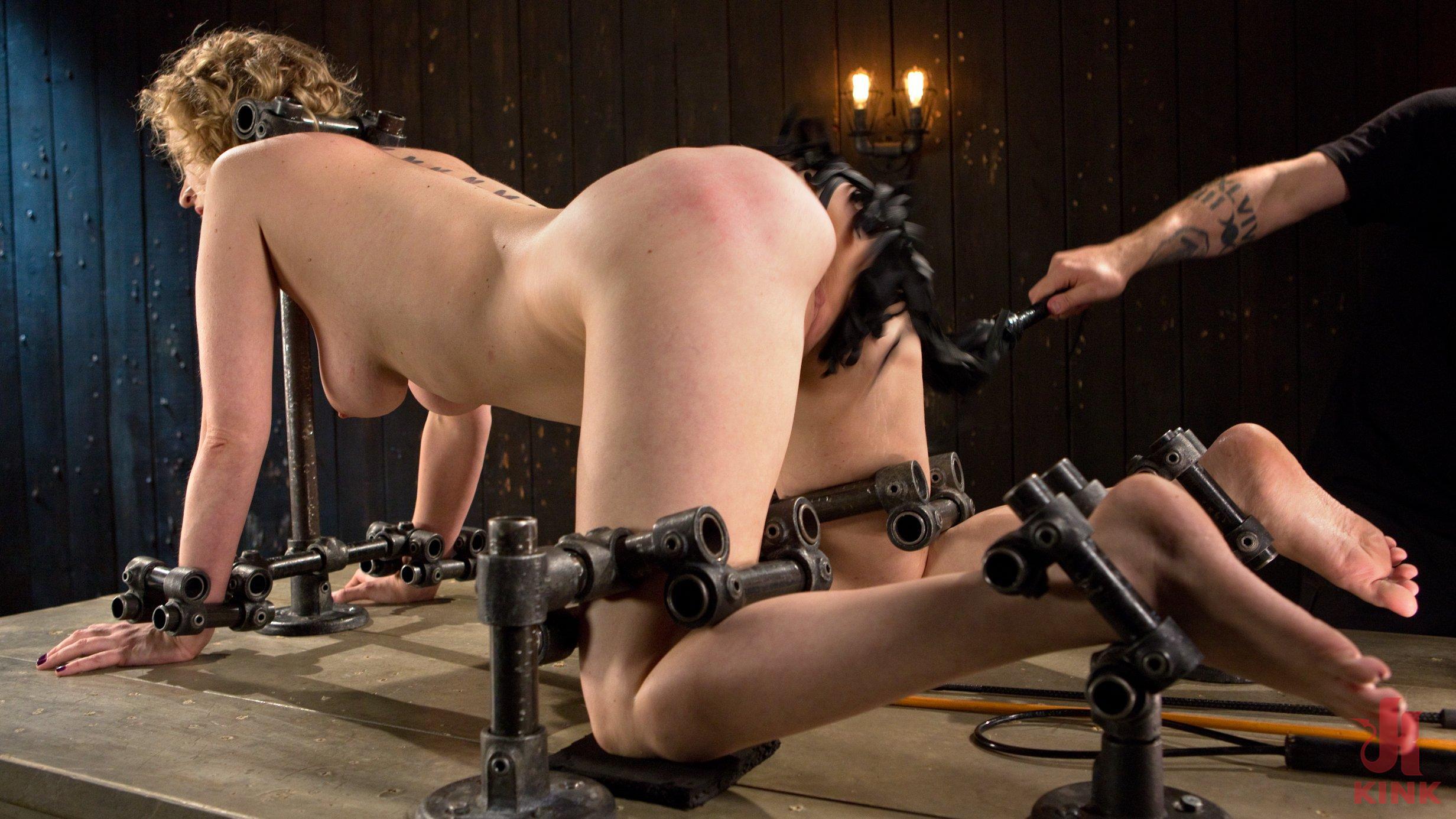 bondage pussy gets flogged anal slut