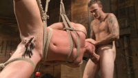 Boss Wilde catches Josh Peters with his dick out and the barn messy. His juicy country ass will pay with a hard fucking.
