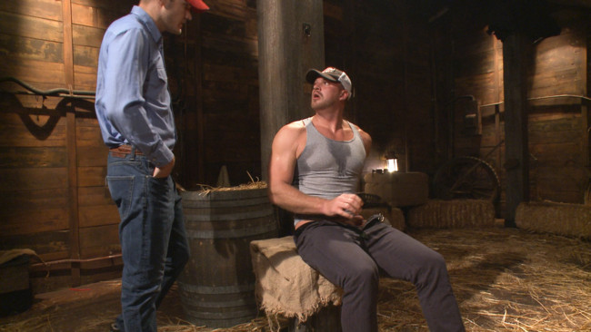 Bound Gods - Christian Wilde - Josh Peters - Farmboy punished for jerking off on the job #2