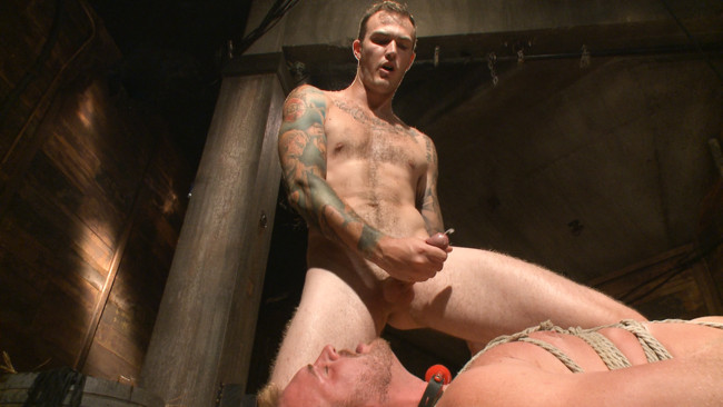 Bound Gods - Christian Wilde - Josh Peters - Farmboy punished for jerking off on the job #12