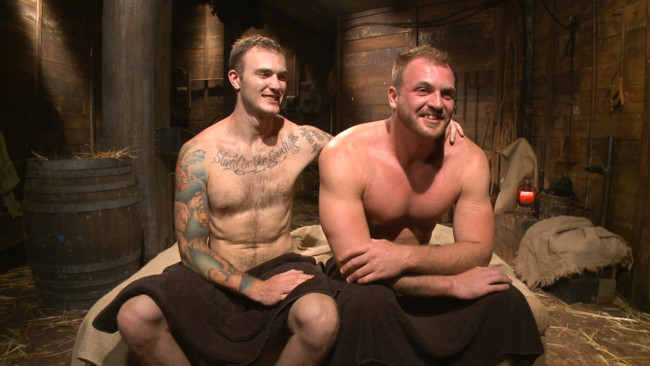 Bound Gods - Christian Wilde - Josh Peters - Farmboy punished for jerking off on the job #14
