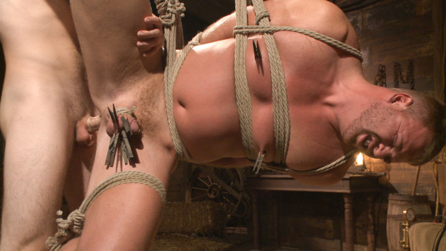 Bound Gods - Christian Wilde - Josh Peters - Farmboy punished for jerking off on the job #15