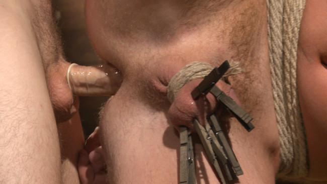 Bound Gods - Christian Wilde - Josh Peters - Farmboy punished for jerking off on the job #9