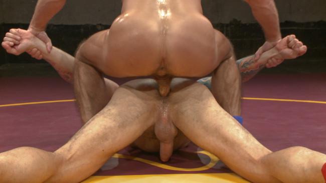 Naked Kombat - Dirk Caber - Hugh Hunter - Muscle Matchup - Dirk Caber vs Hugh Hunter #13