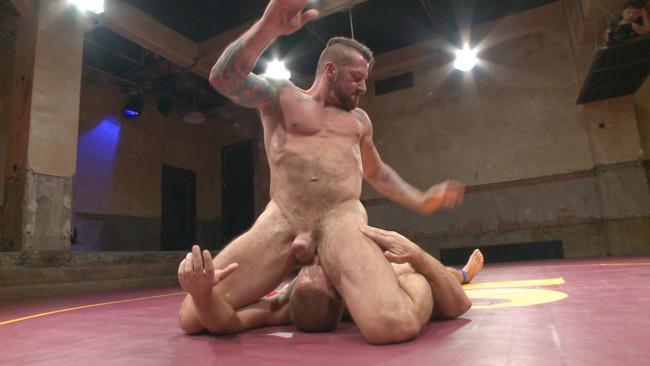 Naked Kombat - Dirk Caber - Hugh Hunter - Muscle Matchup - Dirk Caber vs Hugh Hunter #15