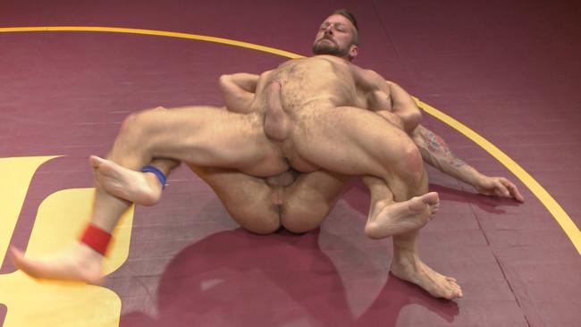 Naked Kombat - Dirk Caber - Hugh Hunter - Muscle Matchup - Dirk Caber vs Hugh Hunter #20