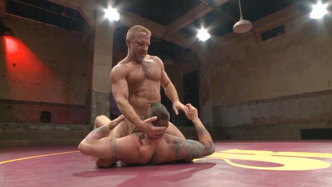 Naked Kombat - Dirk Caber - Hugh Hunter - Muscle Matchup - Dirk Caber vs Hugh Hunter #7
