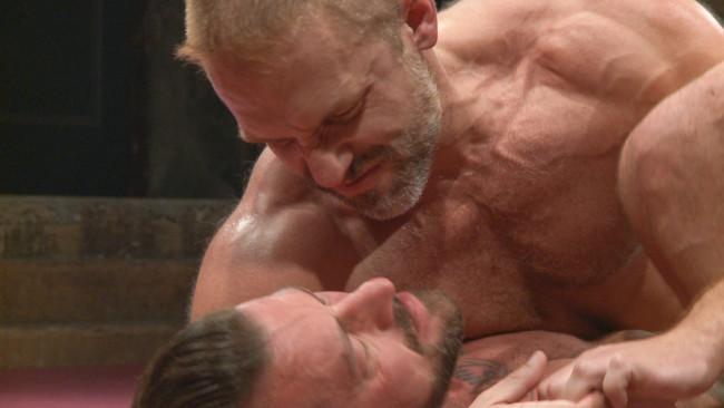 Naked Kombat - Dirk Caber - Hugh Hunter - Muscle Matchup - Dirk Caber vs Hugh Hunter #8