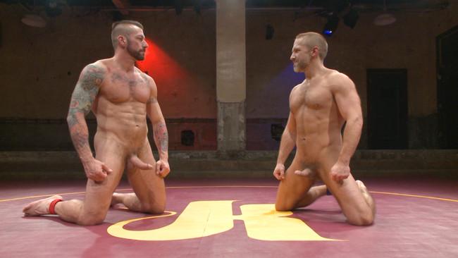 Naked Kombat - Dirk Caber - Hugh Hunter - Muscle Matchup - Dirk Caber vs Hugh Hunter #9