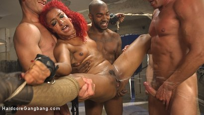 Daisy Ducati brings 5 men back to life in a post apocalyptic world for the ultimate gangbang and her first cream pie!