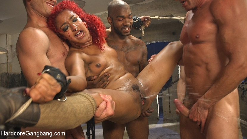 [HardcoreGangbang] Awakening Of the Beasts: Daisy Ducati filled with demon cream pie!