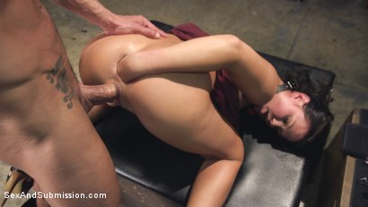 Roxy Raye in hardcore bondage, rough anal sex, and extreme anal fisting