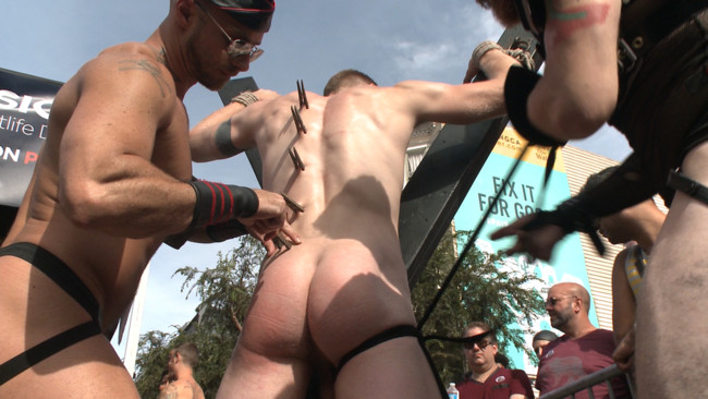 Bound in Public - Christian Wilde - Jessie Colter - Cass Bolton - Cass Bolton's Folsom Street Fair Orgy Continues! #1