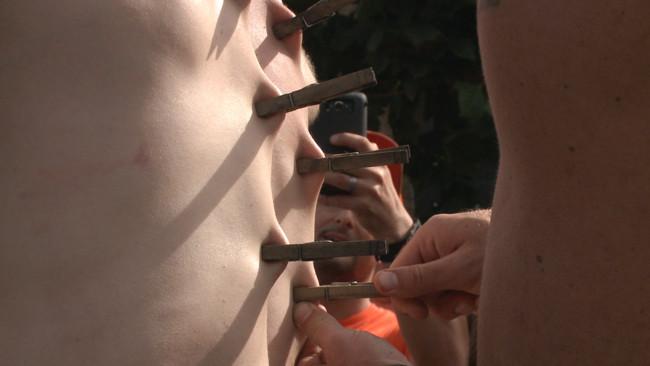 Bound in Public - Christian Wilde - Jessie Colter - Cass Bolton - Cass Bolton's Folsom Street Fair Orgy Continues! #5