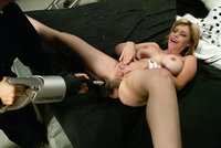 Gia Paloma take huge dongs and cums best from machine fucking.