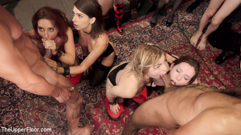 Anal slut slaves serve a bdsm swingers orgy. 4 Sexually servile