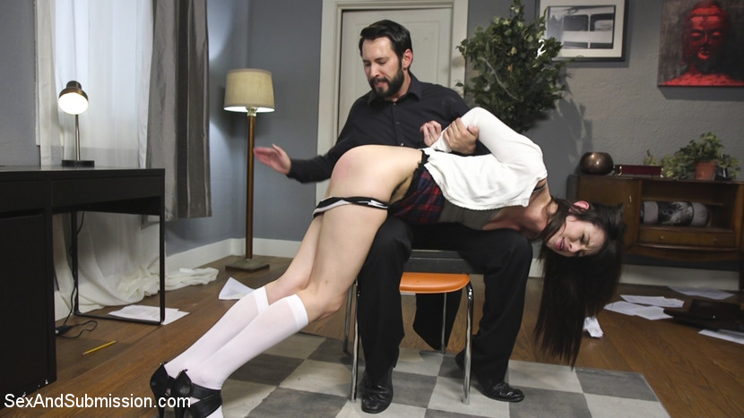 Rich brat learns a is for booty. When bratty college girl Aspen Ora's grades fall, her step dad hires a tutor to teach the rich slut a lesson. This update features long legs, all natural tits, violent anal, gags, rope bondage, cunt whipping and slapping.
