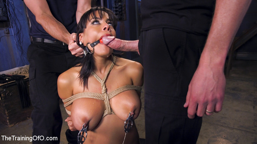 Hot latina slave for a day. Knock out beauty Luna Star wants to be a slave for a day. She's gonna have to prove how much she wants it with her sophisticated tits, big ass, hot fuckable mouth and subservience to the cock. Hardcore bondage, nipple clamps, gags, whips, and discipline take this slave girl to her knees and swell her cunt with the pride of serving well.