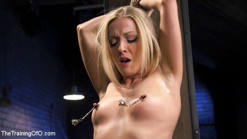 Slave training karla kush day one. All natural blonde stunner