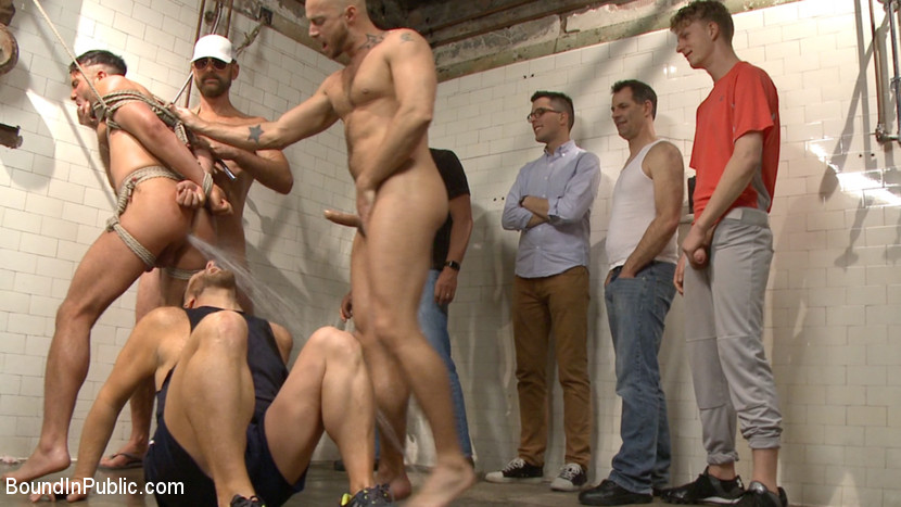 Gay piss professionals college guys wesley 3