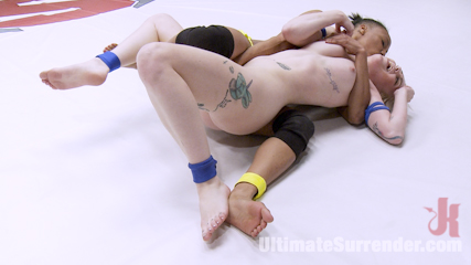 Once a rookie, Now a bully, Nikki Darling Destroys her Opponent