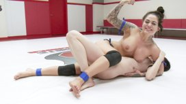 Rookie-utterly-Destroyed-on-mat-with-Orgasms
