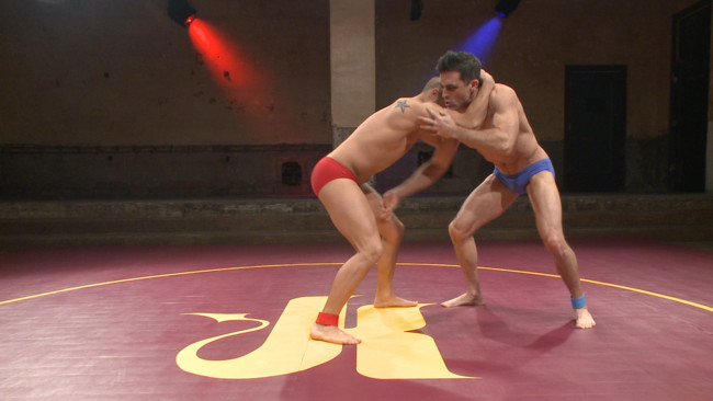 Naked Kombat - Eli Hunter - Lance Hart - Lance Hart Tussles with Eli Hunter #2