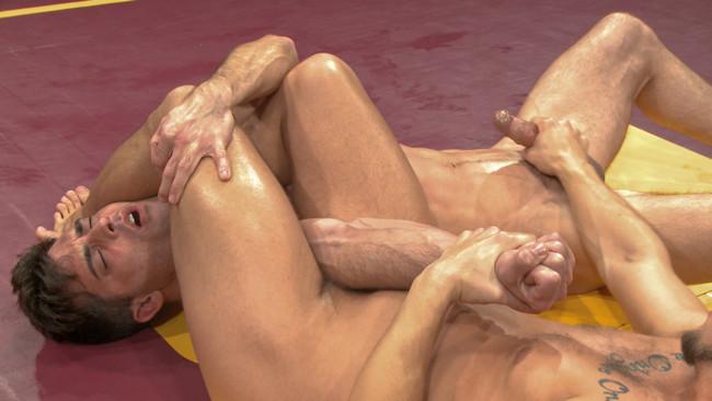 Naked Kombat - Eli Hunter - Lance Hart - Lance Hart Tussles with Eli Hunter #13