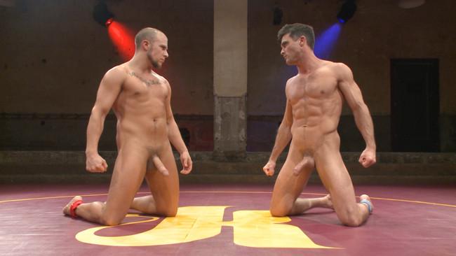Naked Kombat - Eli Hunter - Lance Hart - Lance Hart Tussles with Eli Hunter #14