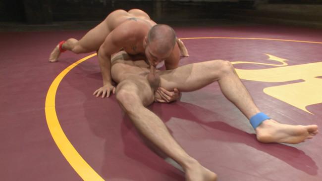 Naked Kombat - Eli Hunter - Lance Hart - Lance Hart Tussles with Eli Hunter #5
