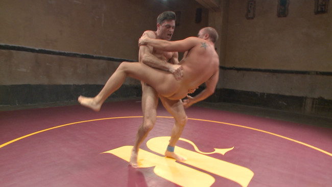 Naked Kombat - Eli Hunter - Lance Hart - Lance Hart Tussles with Eli Hunter #6