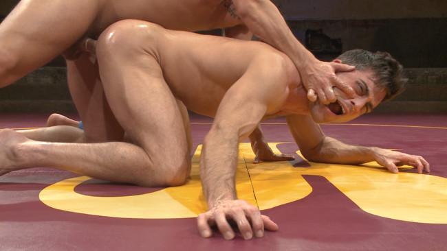 Naked Kombat - Eli Hunter - Lance Hart - Lance Hart Tussles with Eli Hunter #7