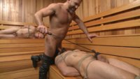 Two curious punks bite off more than they can chew when they break into a leather daddy's locker