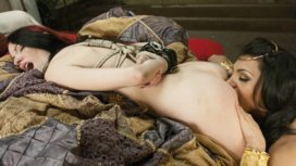 Kajira-Bound-is-TS-Jessy-Dubais-sex-slave