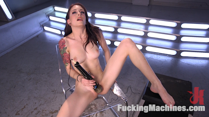 Petite Fuck Doll Gets Her Pussy Pounded and Ass Fucked by Machines