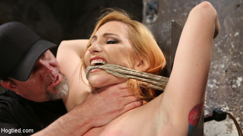 Warning extreme molest water boarding and brutal bondage. Sophia is a true masochist and gets wet from brutal torment. Her shoots are always extreme and this may the most extreme so far. She is restrained in tight rope bondage while being subjected to non stop brutality. After what seems like a day that could not get any worse for her, she water boarded and then rewarded with screaming orgasms.This may be the most brutal shoot in Hogtied's history!!