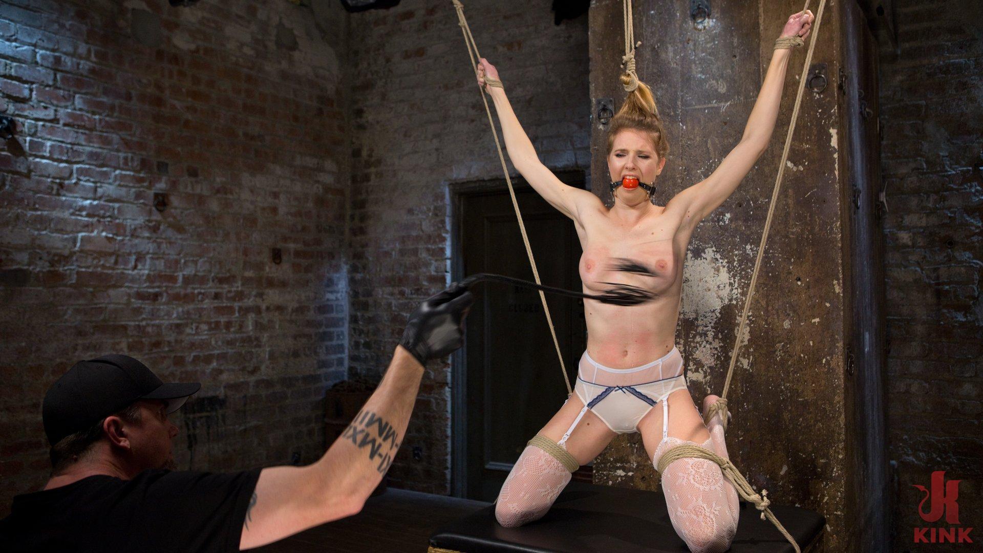 Bondage, caning, flogging, predicament bondage, pussy fucking, extreme suspension, orgasm denial, corporal punishment