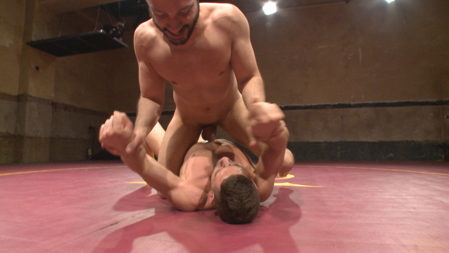 Naked Kombat - Dylan Strokes - Kyle Kash - Dylan Strokes v Kyle Kash: Battle of the Fat Cocks #14