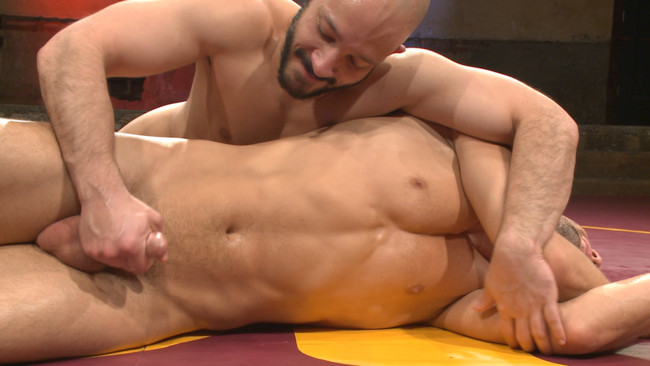 Naked Kombat - Dylan Strokes - Kyle Kash - Dylan Strokes v Kyle Kash: Battle of the Fat Cocks #4