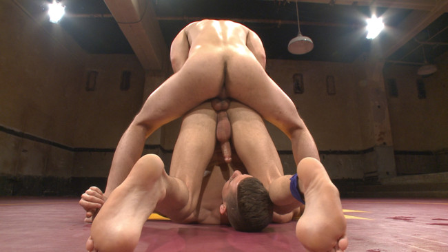Naked Kombat - Dylan Strokes - Kyle Kash - Dylan Strokes v Kyle Kash: Battle of the Fat Cocks #9