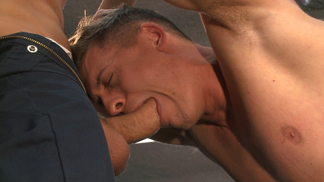 Bound Gods - JJ Knight - Tyler Rush - Fucking on the job: Stud with a fat cock dominates his creepy coworker #7