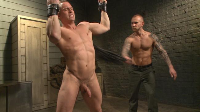 Bound Gods - Tommy Regan - Damien Michaels - Enhanced Interrogation: Detained Stud Faces a Horny, Sadistic Agent #1